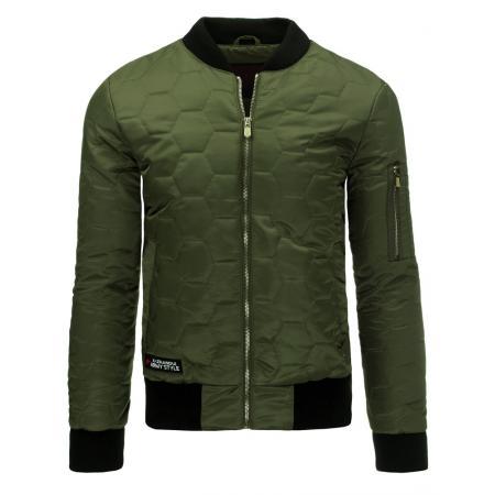 Pánská bunda bomber zelená