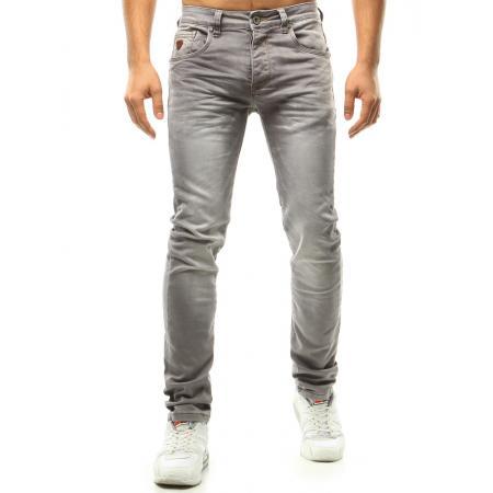 Pánské riflové kalhoty šedé