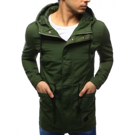 Pánská zelená parka - jarní bunda