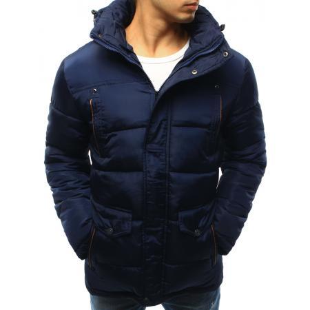Pánská bunda zimní světle modrá