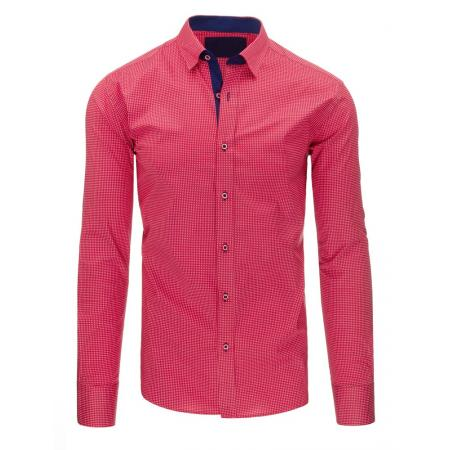 29fb7bcc1a0 Pánská košile elegantní růžová slim fit