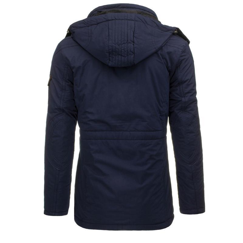 a9faa7cd884 Pánská bunda (parka) zimní tmavě modrá
