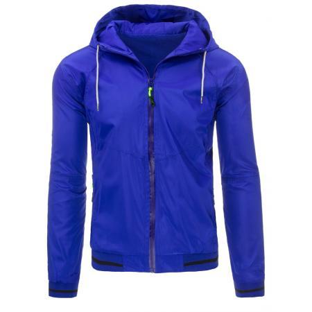Pánská bunda přechodová modrá