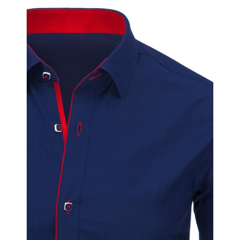 Elegantní pánská košile modrá  85744c0811
