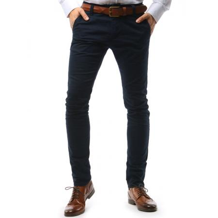 Pánské chino kalhoty tmavě modré d34ce2c37f