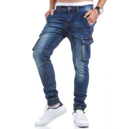 Pánské jeansové (džínové) kapsáče