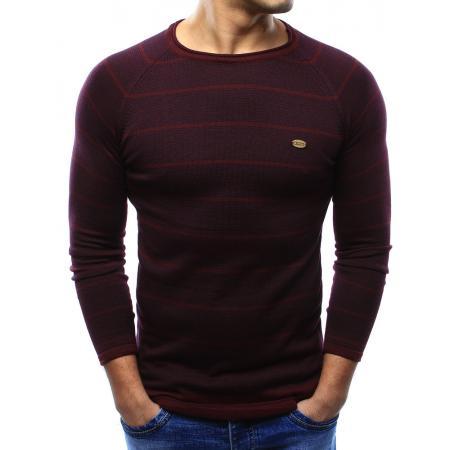 Pánský svetr tmavě červený