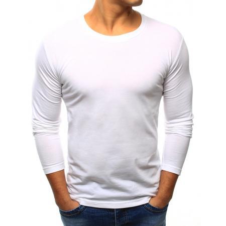 d86f7012d32 Pánské tričko STYLE s dlouhým rukávem bílé