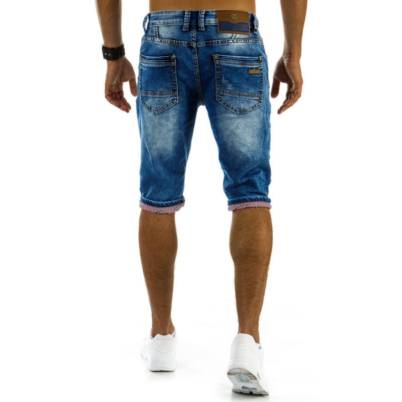 ca6841e4b97 Pánské jeansové šortky modré