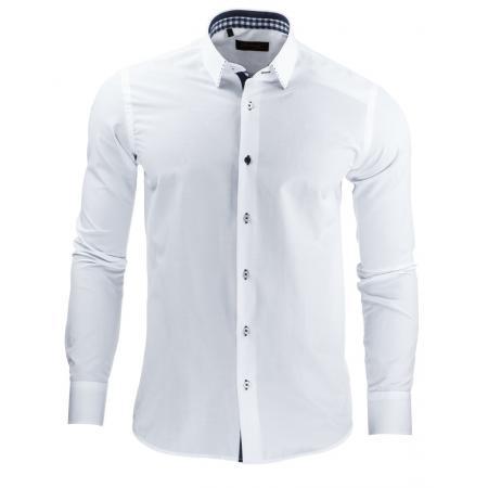 Pánská stylová košile DSTREET bílá