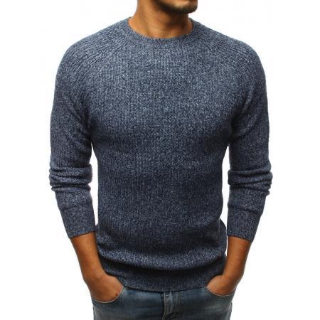 Pánský svetr modrý STYLE