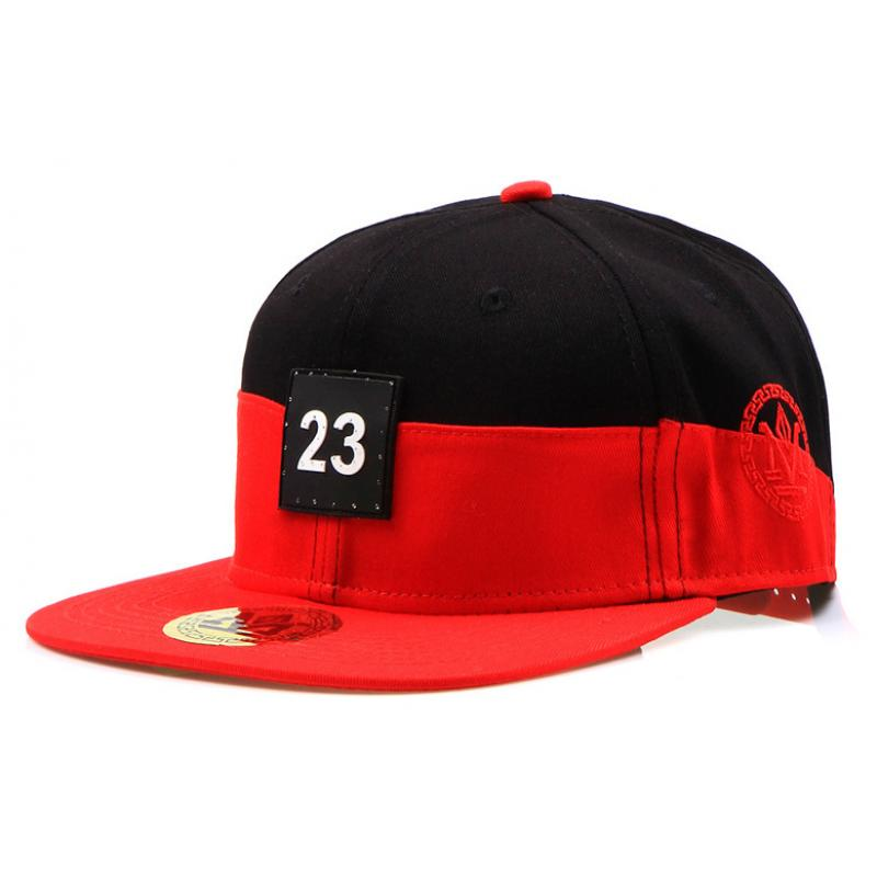 7a1803c756e Pánská kšiltovka snapback černo-červená