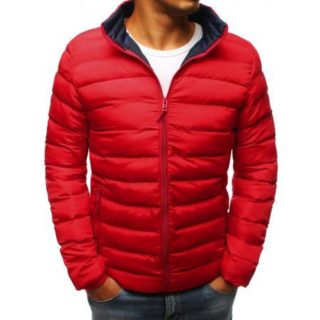 Pánská STYLE bunda prošívaná červená