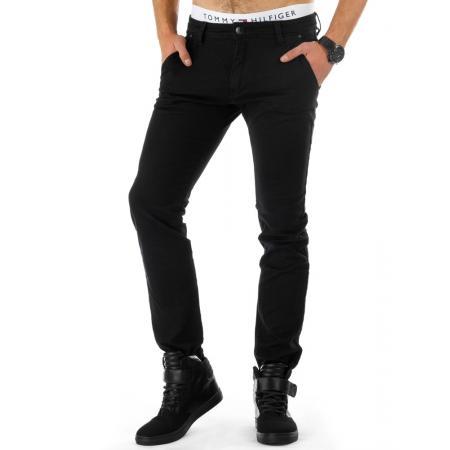 Pánské moderní džínové (jeansové) kalhoty černé
