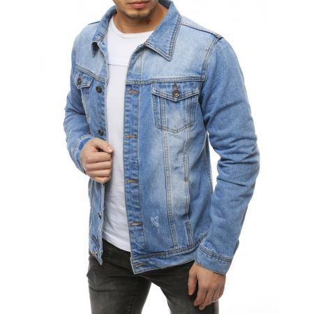Pánská bunda džínová modrá TX3257