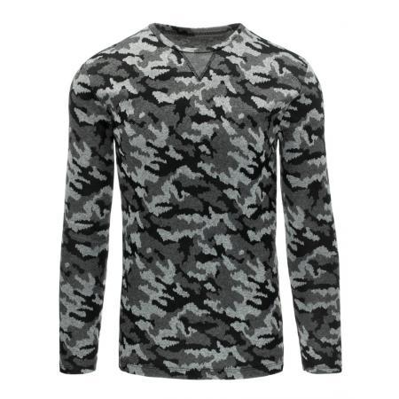 Pánský moderní svetr šedý