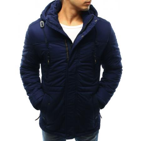 Pánská bunda zimní tmavě modrá