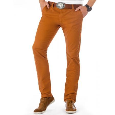 Pánské originální kalhoty v barvě mědi
