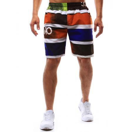 Pánské koupací šortky vícebarevné