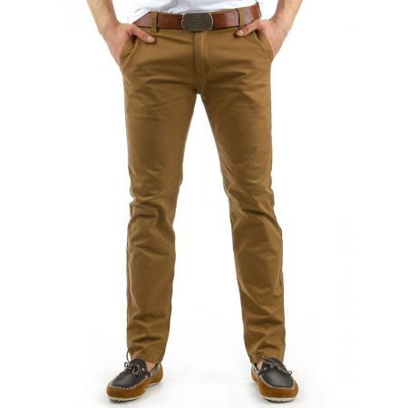 Pánské originální kalhoty karamelové