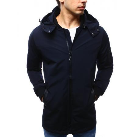 Pánská bunda parka tmavě modrá