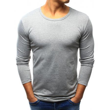 30fbc98bbb7 Pánské tričko STYLE s dlouhým rukávem šedé