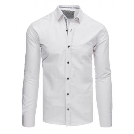 c42ef7fd6e9 Pánská STYLE košile elegantní bílá
