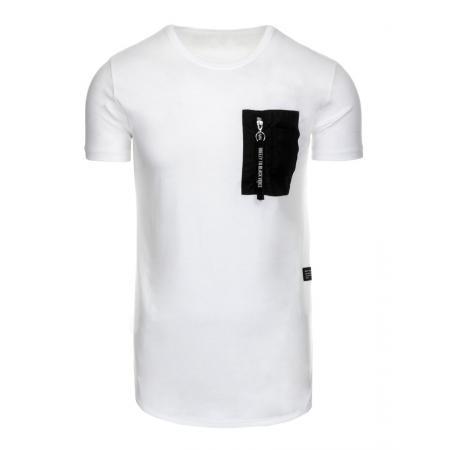 b40f944cfcc Pánské tričko bez potisku bílé