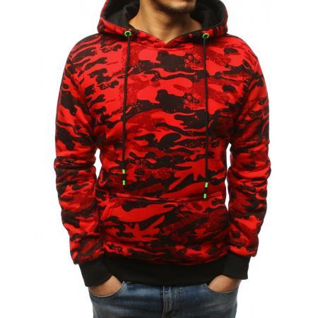 61c65945006 Pánská mikina CHOICE s kapucí červená