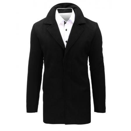 Pánský černý kabát