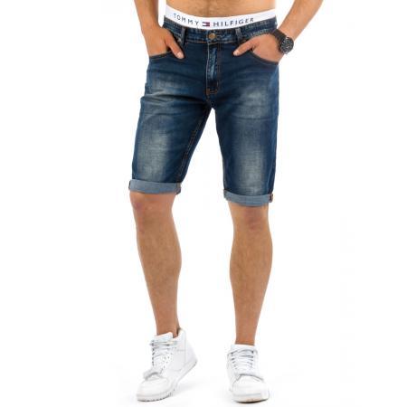 Pánské elegantní jeansové kraťasy