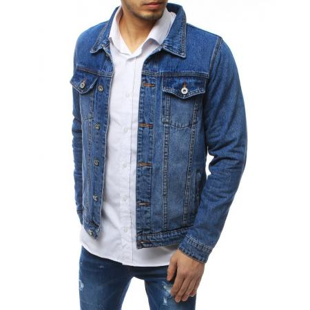 Pánská bunda džínová modrá TX3255