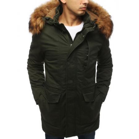 Pánská bunda parka zimní khaki TX3059