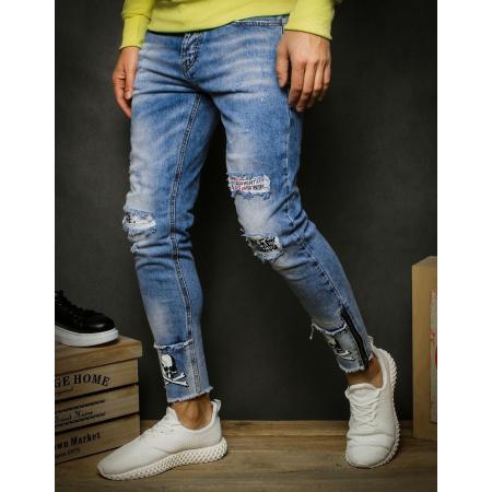 Pánské jeansy modré UX2349